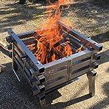 DJLOOKK Barbecue Portatile, Griglia per Barbecue, Griglia per Barbecue a Carbone, Griglia per Fumatori, Griglia da Tavolo, Forno a Carbone, Griglia a Carbone, Fornello a Carbone, Barbecue a Legna