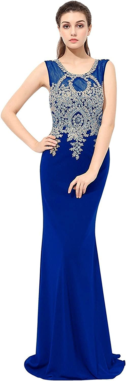 Belle House Womens All stores are sold Evening Sale Special Price Dresses Long Formal Prom Elegant Lace