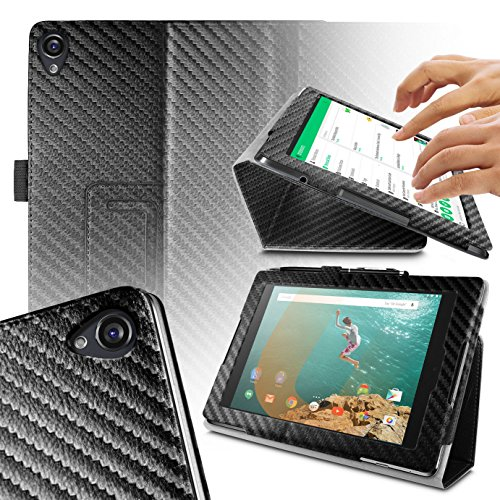 Orzly - Tablet Stand CASE for Nexus 9 with AUTO Sleep SENSORS