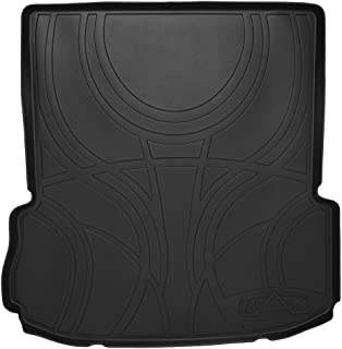 MAXLINER All Weather Cargo Liner Floor Mat Behind 2nd Row Black for 2011-2019 Ford Explorer