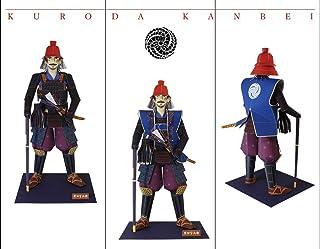 """まっぷす紙工作 vol.3 黒田官兵衛 ペーパークラフト 組立説明書日本語・英語対応 ~ Samurai Hero""""Kuroda Kanbei"""" Paper Craft Assembly instructions languages: Japa..."""