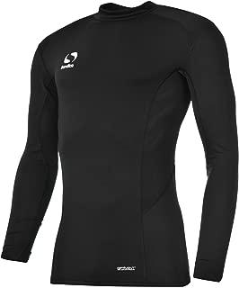 EVERLAST NOIR ROSE /& ARGENT Mock COUCHE fitness entraînement T-shirt haut