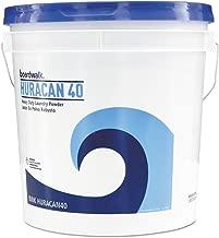 Boardwalk HURACAN40 Low Suds Industrial Powder Laundry Detergent, Fresh Lemon Scent, 40lb Pail
