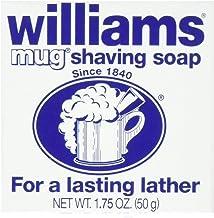 Williams Mug Shaving Soap, 1.75 Oz (Pack of 5)