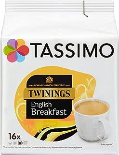 Tassimo Twinings Breakfast Tea 16 servings (Pack of 5, 80 servings in total)