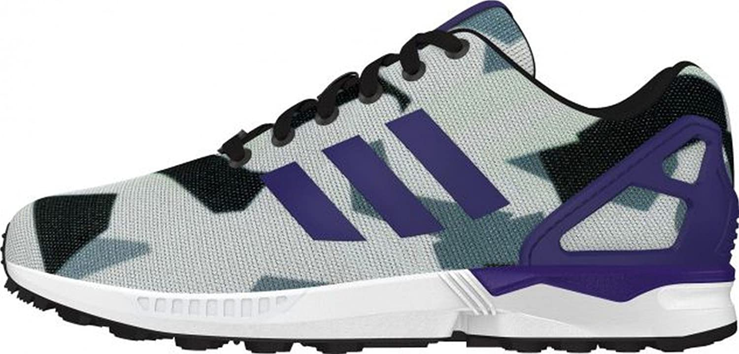 Adidas ZX Flux Design Grey White Purple B34517