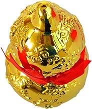 ZAMTAC Feng Shui Golden Wu Lou with Longevity God and Tree SKU: J2205