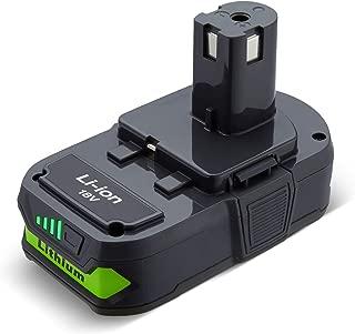 3.0Ah P102 Battery for Ryobi 18-Volt One Plus Lithium Battery One+ Compact 18 Volt Power Cordless Tools P103 P105 P107 P108 P109 P122
