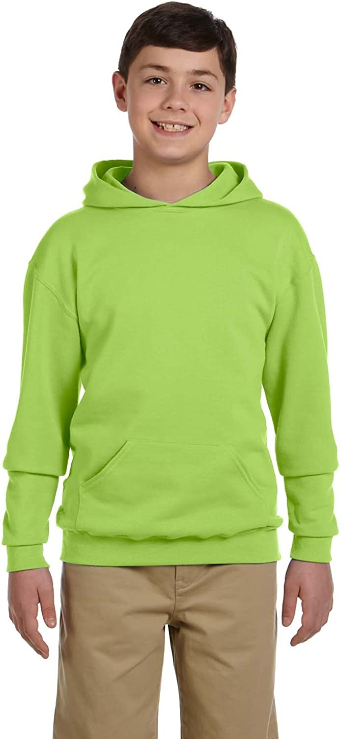 Jerzees Youth 8 oz 50//50 NuBlend Fleece Pullover Hood