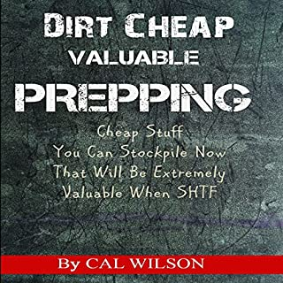 Dirt Cheap Valuable Prepping cover art