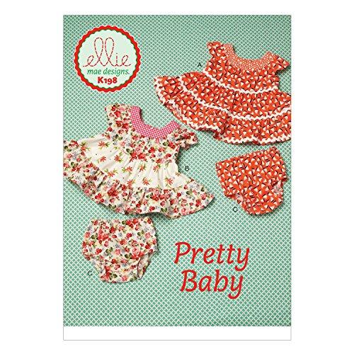 Kwik Sew Mustern k0198OS Größen S/M/L/XL/2X Große Baby Kleider und Panty Schnittmuster