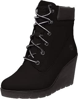 Timberland Womens Paris Height Nubuck Boots