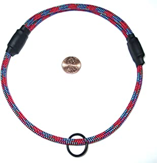 National Leash Thin Mountain Rope Dog ID Collar - Fiesta - Medium Size - The Original Snickers Collar