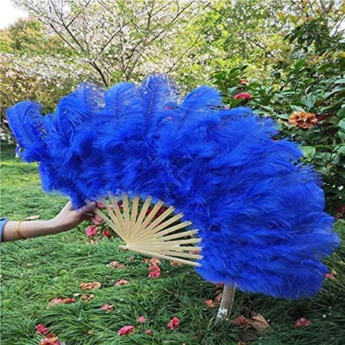 Whole 15 Bone Ostrich Feathers Party Fan Wedding Celebration Tulsa Mall Ranking TOP1 Da