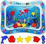 Alfombra de juegos de agua, juguetes para bebés y centro de juegos de actividades de entretenimiento para niños, utilizado para el crecimiento del cerebro de niños y niñas