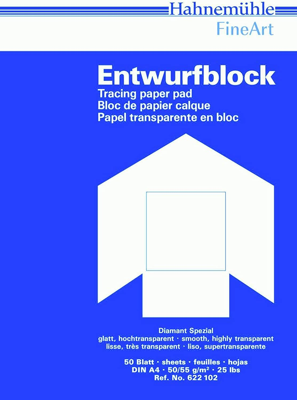 Transparentpapierblock Diamant 110 115g m², 420x594mm, 50Blatt B001ERBEXU      | Charakteristisch  37f35e