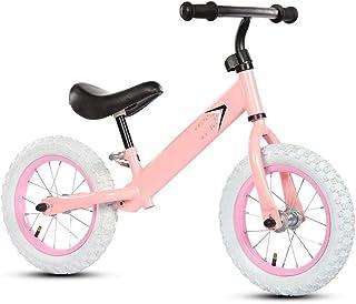 Nfudishpu Kids Balance Bike, No Pedal Toddler Bike, Adjustable Handlebar and Seat, Toddler Walking Bicycle for Kids 2 to 6...