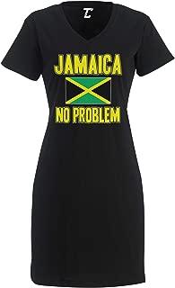 Jamaica No Problem - Jamaican Flag Rasta Women's Nightshirt