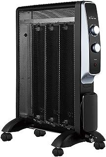 PURLINE MR1500B Calefactor Radiador Eléctrico Bajo Consumo con Panel de Mica hasta 1500W, Termostato Regulable, Rápido Calentamiento permitiendo un Aumento de Temperatura prácticamente inmediato.