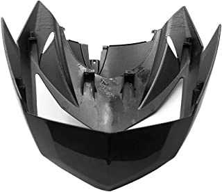 Alpha Rider Motorcycle ABS Injection Fairings For Upper Front Head Fairing Cowl Nose Cowl For Kawasaki Z750 Z-750 2007-2012 Black