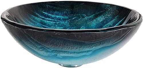 Kraus gv- 399-19 mm ladón lavabo de vidrio para pedestal