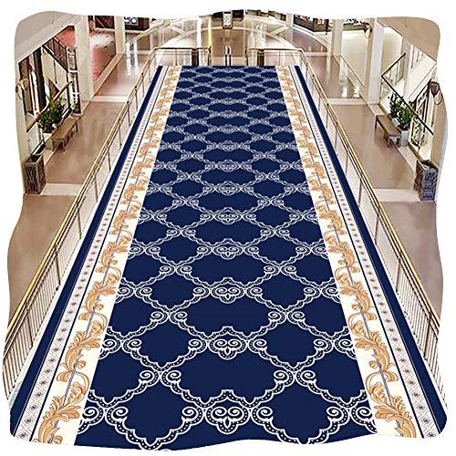 ZHAOHUI-Läufer Teppiche Flur Modern Anti-Fall 3D Kariert Flur Teppich Innen Treppe Badezimmer Waschbar Schneidbar, Mehrere Größen (Color : A, Size : 1x1.5m)
