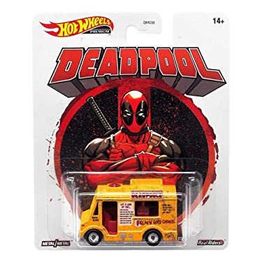Hot Wheels Deadpool Chimichanga 164 Scale Vehicle