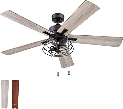 Prominence Home 51457 01 Marshall Ceiling Fan 52 Matte Black Amazon Com