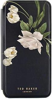 Ted Baker EESMEE Mirror Folio Case for iPhone 11 - Elderflower/Black Silver