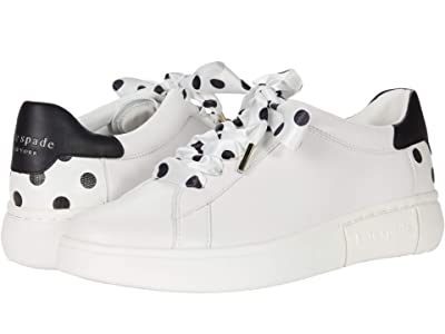 Kate Spade New York Lift (Optic White/Black Dots) Women