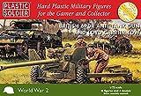 Soldato di plastica 1/72 British 6PDR Anit-Tank Gun & Lloyd Carrier Tow # WW2G20004