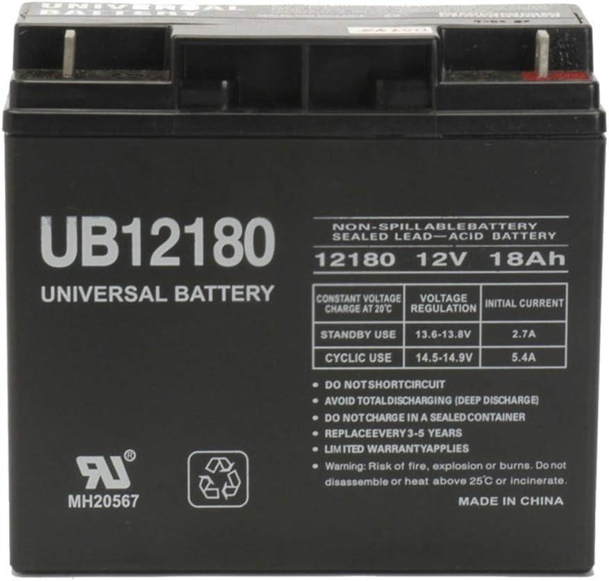 Universal Power Group 12v 18AH Battery for Replacement Golde オンラインショッピング SLA ふるさと割