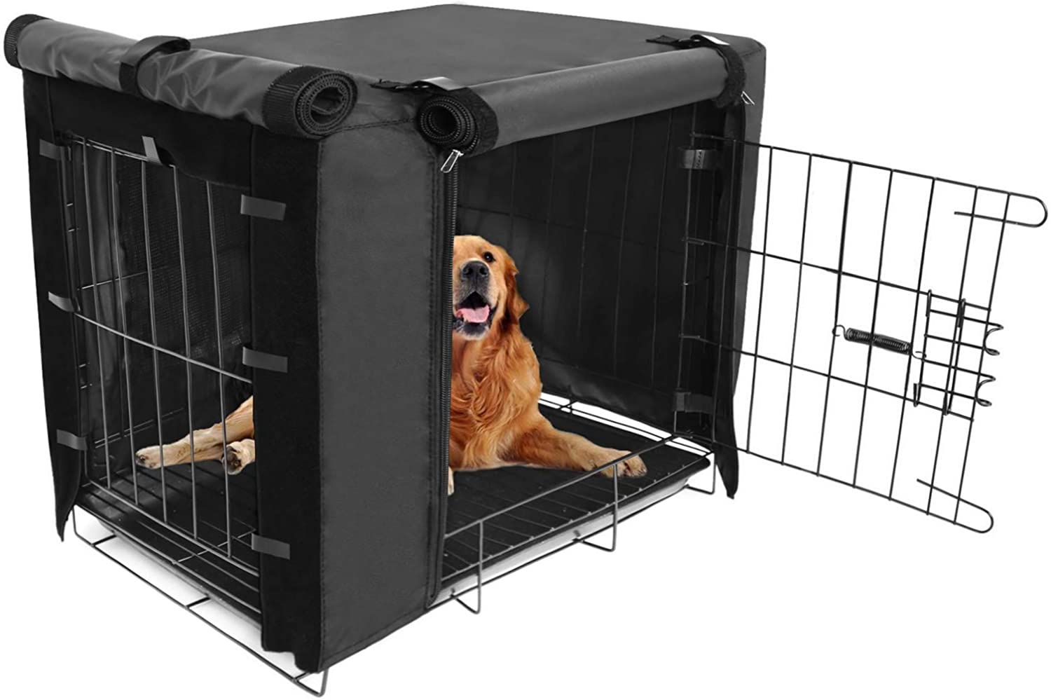 Durable Dog Crate Cover Columbus Mall Double Door Covers Large pet for Kennel Raleigh Mall