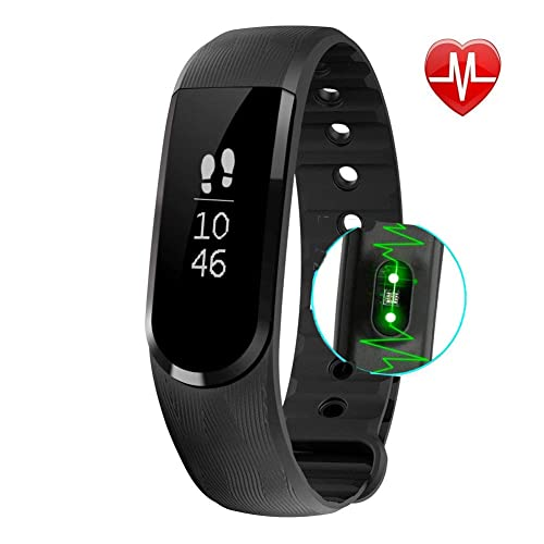 OMNiX™ Veryfit-ID101HR Fitness Band Smart Health Bracelet Bluetooth Wristband Activity Tracker with Heart Rate Monitor