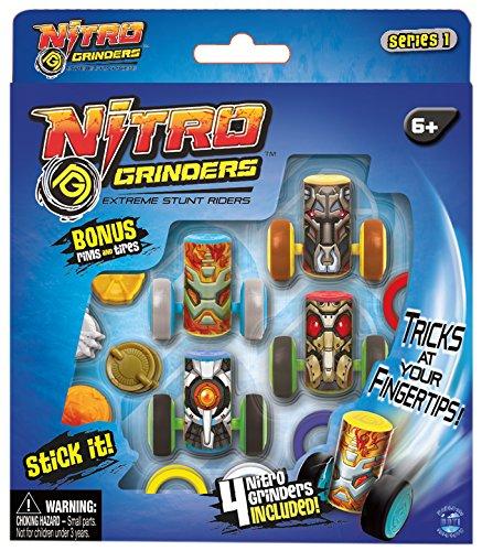 NITRO GRINDERS 33299A  - Deluxe Customisation Pack, Assortment 1, Fingerboards, Mini-BMX und Zubehör