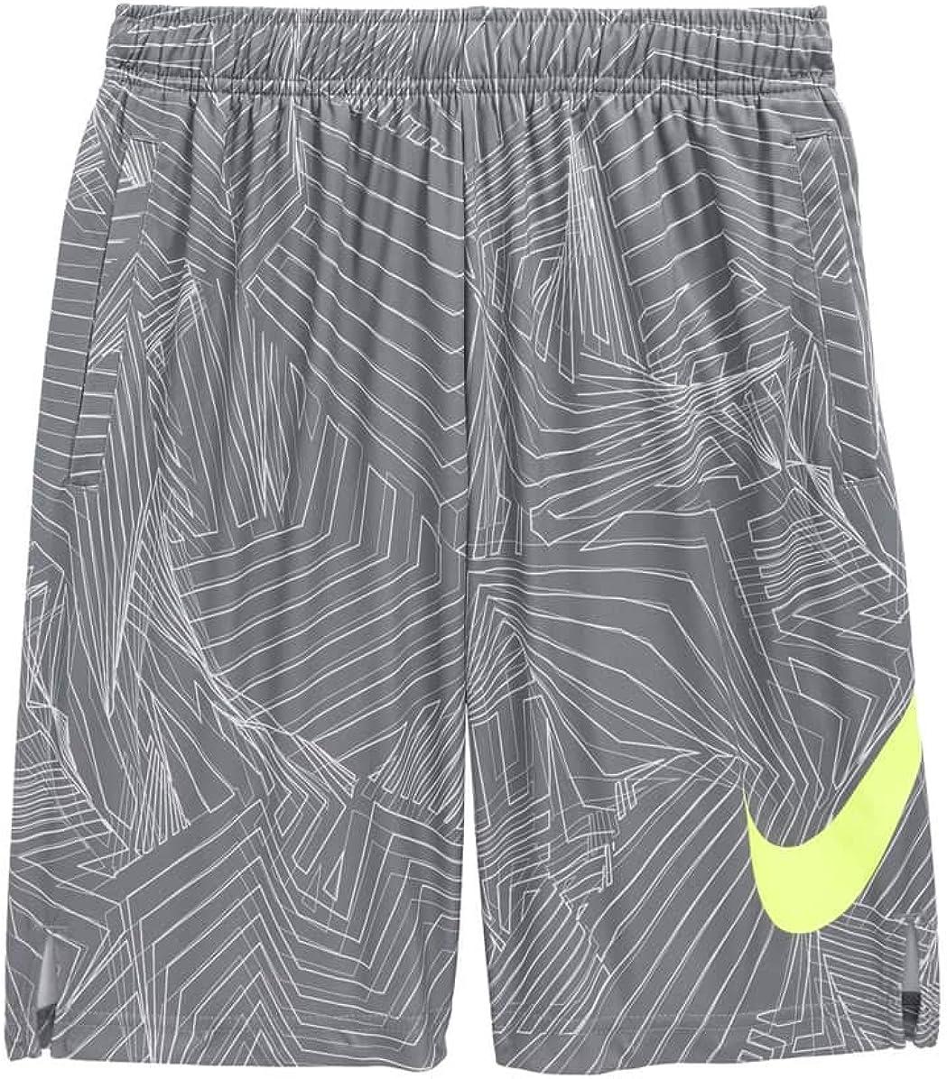 Nike Big Kids' (Boys') Dri-FIT Training Shorts (Black(892490-010)/Cool Grey