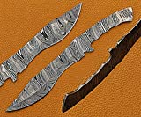 11 inches Long Kukri Point Dao Blank Blade,...