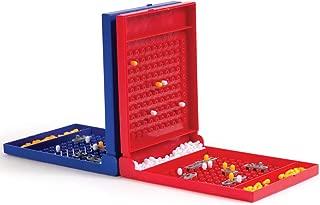 Mini Battle Fleet Travel Game - Classic Naval Ship Action Educational Fun Board Game Travel Size Set for Family Kids Children