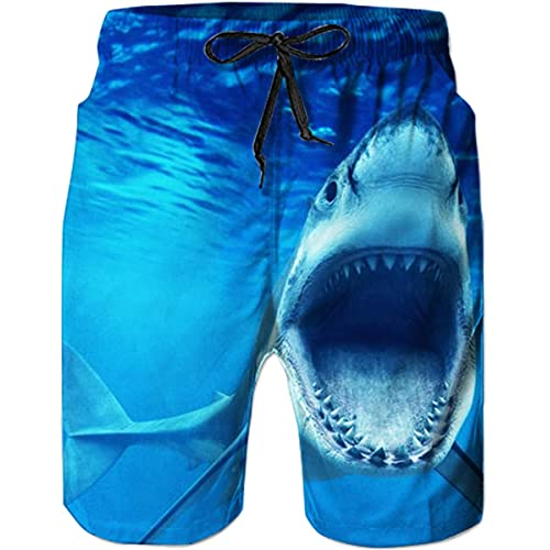 18ed82404220f TUONROAD Mens Swim Shorts 3D Print Funny Swimming Trunks Quick Dry Boys  Summer Casual Beach Shorts