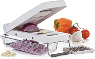 PL8 Professional 3 Cup Vegetable Chopper, White