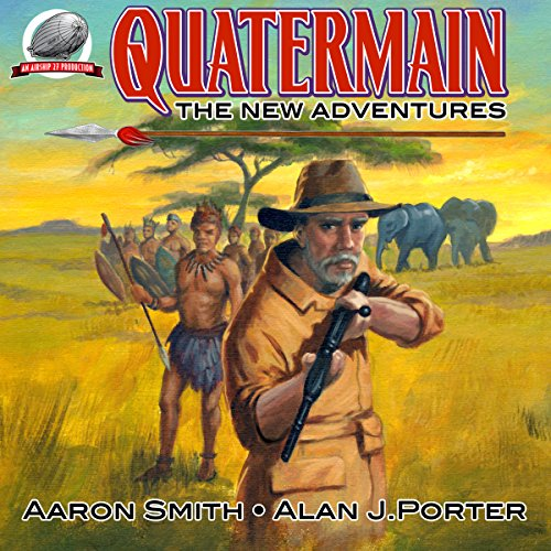 Quatermain: The New Adventures, Book 1 audiobook cover art
