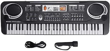 Liyeehao Electric Keyboard Piano 61-Key, Piano Keyboard 61 K