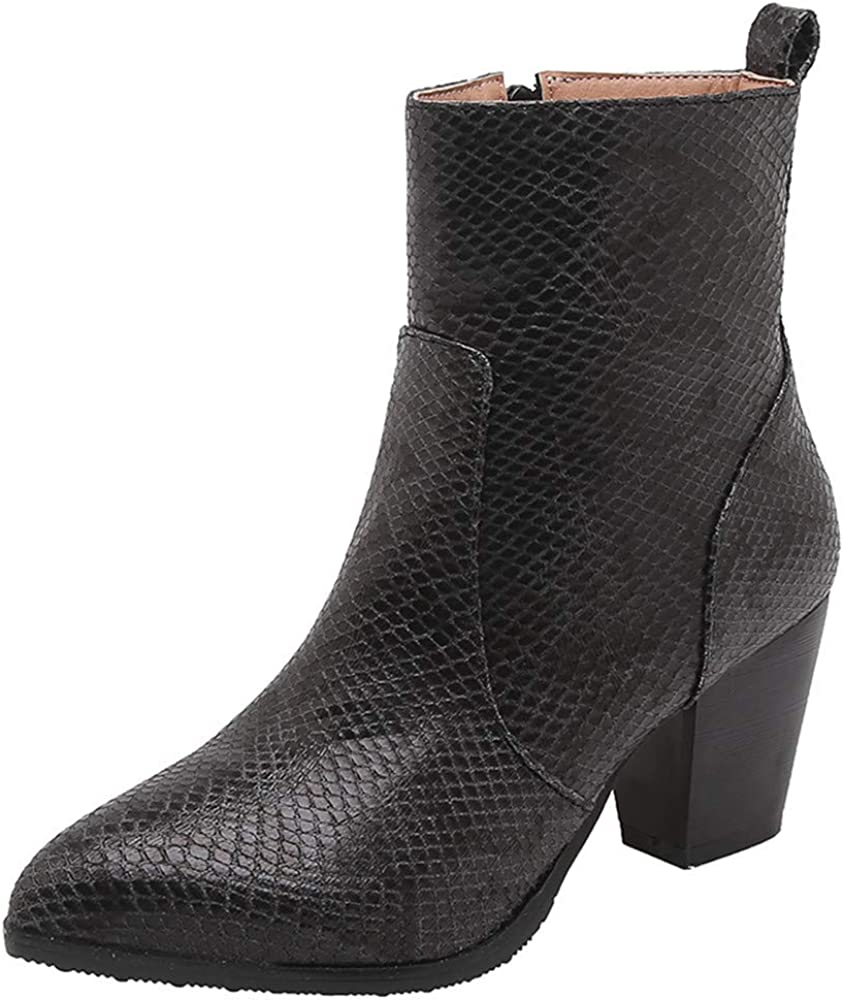 Catarry San Tampa Mall Diego Mall Women's Sexy Side Zipper Ladies Ankle Comforatable Boots