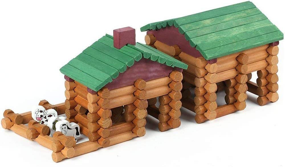 Joqutoys Building House Toy for Toddlers PCS 67% OFF of fixed price 170 L Cabin Free Shipping New Wooden