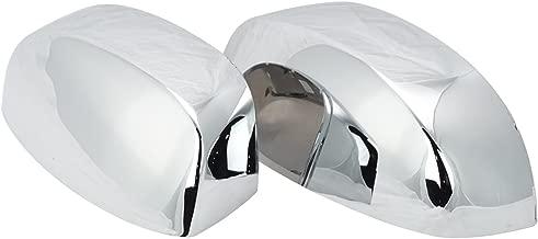 Chrome Side View Mirror Caps Left & Right Pair Set for Silverado Sierra Truck