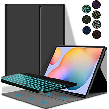 Ygoal Keyboard Case For Galaxy Tab S7 Plus 7 Colours Computers Accessories
