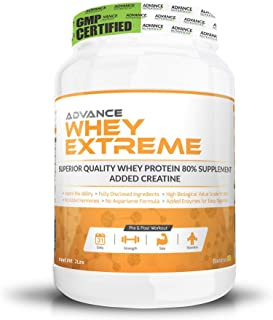 Advance Nutratech Whey Protein Extreme Powder - 2Lbs (Rich Banana Cream)