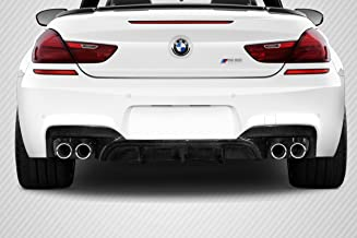 Brightt Carbon Creations ED-DXN-244 AMK Rear Diffuser - 1 Piece Body Kit - Compatible With 6 Series 2011-2018