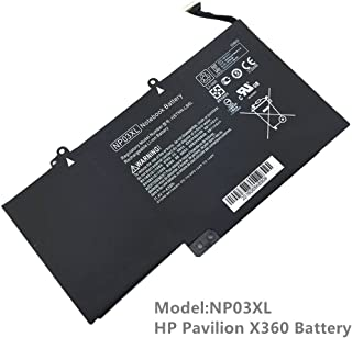 New NP03XL Notebook Battery for HP Pavilion X360 13-a010dx 13-a013cl 13-a113cl 13-A110DX 13-A113CL;HP Envy 15-u010dx 15-u011dx Series Laptop [11.4V 43WH]