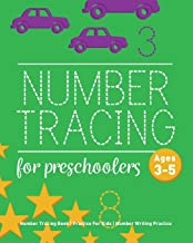 Number Tracing Book For Preschoolers: Number Tracing Book, Practice For Kids, Ages 3-5, Number Writing Practice